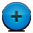 Add, Blue, Button Icon