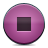Button, Pink, Stop Icon