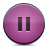 Button, Pause, Pink Icon
