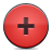 Add, Button, Red Icon