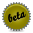 Beta, Green, Splash Icon