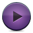 Button, Play, Violet Icon
