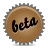 Beta, Brown, Splash Icon
