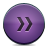 Button, Fastforward, Violet Icon