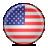 Flag, Usa Icon