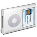 Ipod, White Icon