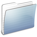 Folder, Generic, Graphite, Stripped Icon