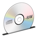 Cd, Disc, Rw Icon