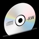 Cd, Disc, Rw Icon