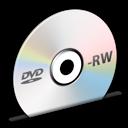Disc, Dvd, Rw Icon