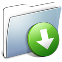 Dropbox, Folder, Graphite, Smooth Icon