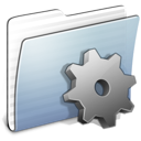 Developer, Folder, Graphite, Stripped Icon