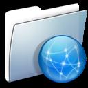 Folder, Graphite, Sites, Smooth Icon