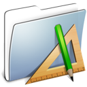 Applications, Folder, Graphite, Smooth Icon