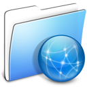 Aqua, Folder, Sites, Smooth Icon