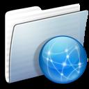 Folder, Graphite, Sites, Stripped Icon