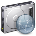 Disconnected, Drive, File, Server Icon