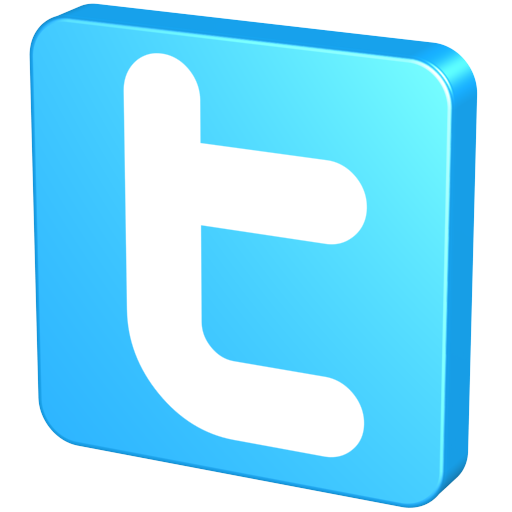 Blue, Twitter Icon