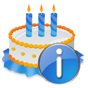 Birthday, Cake, Info Icon