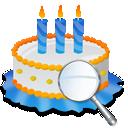 Birthday, Cake, Zoom Icon