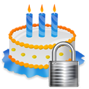 Birthday, Lock Icon