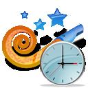 Clock, Mypc Icon