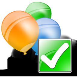 Balloons, Ok Icon