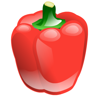 Food, Pepper, Vegetable Icon