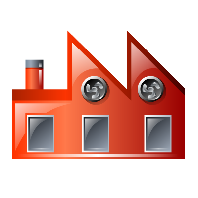 Factory, Financial, Industry, Manufacturer, Production Icon