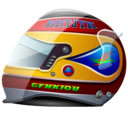 Formula, Helmet, Racing, Sports Icon