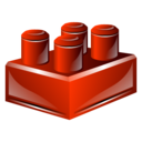 Block, Lego, Module Icon