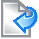 Left, Paper Icon