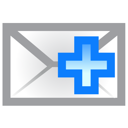 Add, Envelope Icon