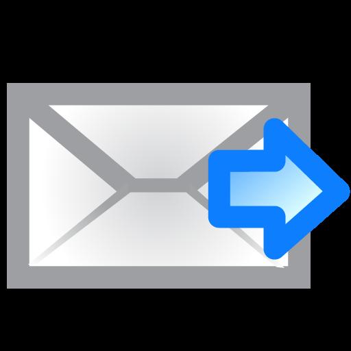 Envelope, Right Icon