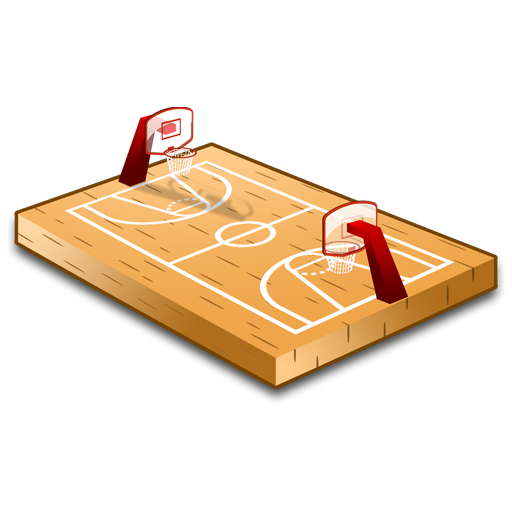 Basketball, Court, Sport Icon