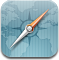 Browser, Compass, Safari Icon
