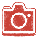 Camera, Photo, Red Icon