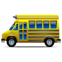 Behicle, Bus, School, Transportation Icon
