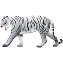 Tiger, White Icon
