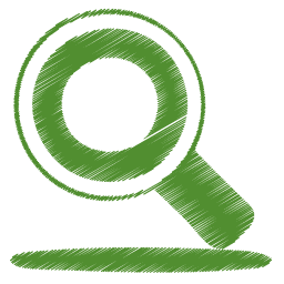 Find, Green, Search Icon