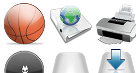 Capital Icon Suite Icons