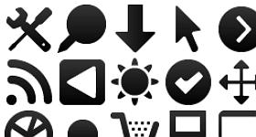 Wireframe Mono Icons