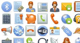 Comfi Telecom Icons