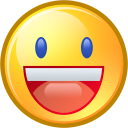 Face, Funny, Happy, Smiley, Yahoo Icon