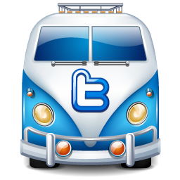 Car, Twitter, Van Icon