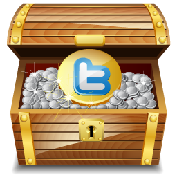 Chest, Gold, Twitter Icon