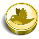 Coin, Twitter Icon