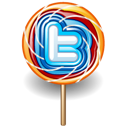 Lollipop, Twitter Icon