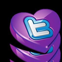 Heart, Love, Twitter Icon