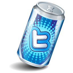 Can, Soda, Twitter Icon